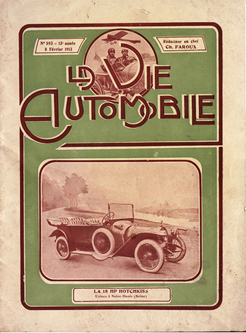 1913 - 8 de Fevereiro - La Vie Automobile