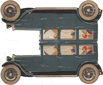 1925 Hotchkiss Marque Page
