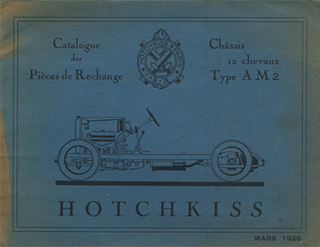 19260300 Catalogue des Pieces AM2