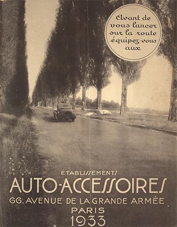 1933 Auto-Accessoires