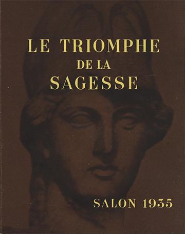 19351003 Le Triomphe de la Sagesse - Salon