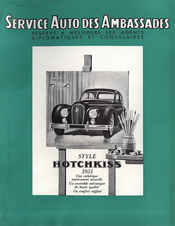 19500001 Service Auto des Ambassades