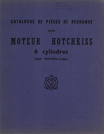 1962 Moteur Hotchkiss-Lago