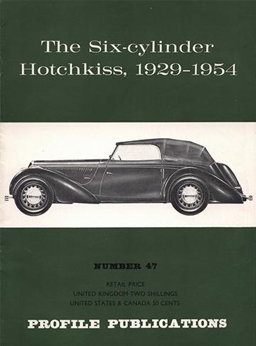 19670001 Hotchkiss 1929 - 1954