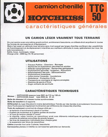 19750000 Hotchkiss TTC 50