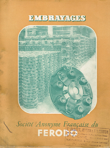 19540001 Catalogue Ferodo