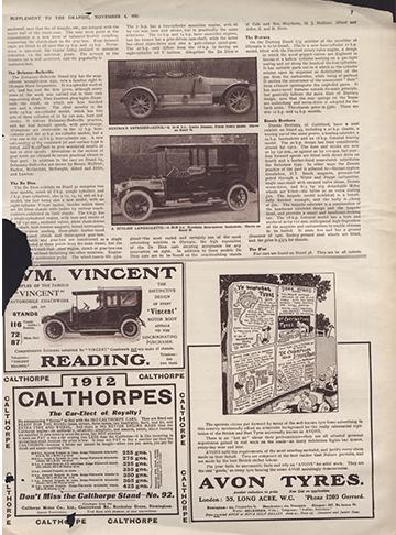 1911 1104 The Graphic Hotchkiss 20-30 Landaulette