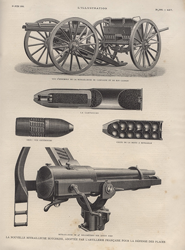 18810618 L'Illustration Hotchkiss