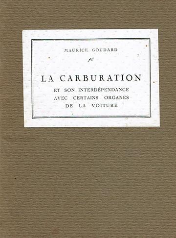 19301021 La Carburation