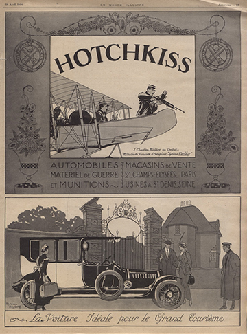 19140418 Le Monde Illustre Hotchkiss