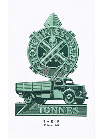 19480101 Hotchkiss PL20 Tarif