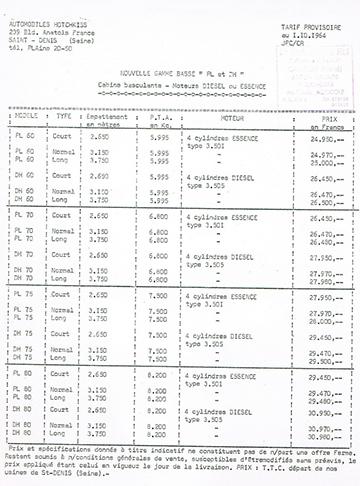 19641001 Hotchkiss Tarif