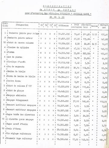 19660215 Hotchkiss Tarif Pieces