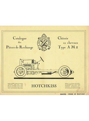 19260300 Catalogue pieces AM2 2eme edition