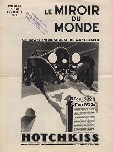 19330204 Le Miroir du Monde Hotchkiss