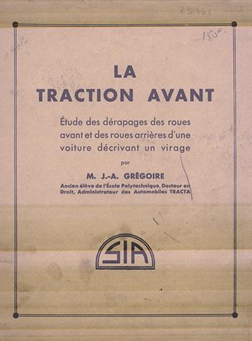 19330411 La Traction Avant JA Gregoire