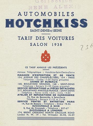 19381000 Tarif Alexis