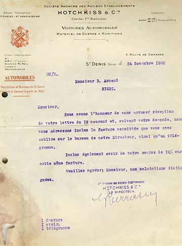19201124 Hotchkiss Usine