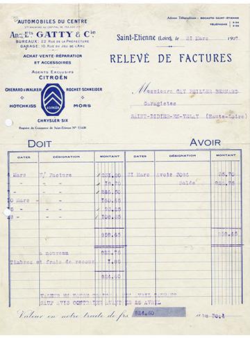 19270331 Gatty Facture