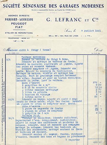 19310707 G. Lefranc et Cie