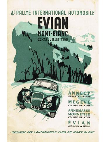 19500722 Rallye Int Evian Mont-Blanc