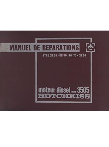 19640001 Moteur 3505 Manuel Reparations