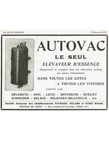 19191227 LVA Autovac