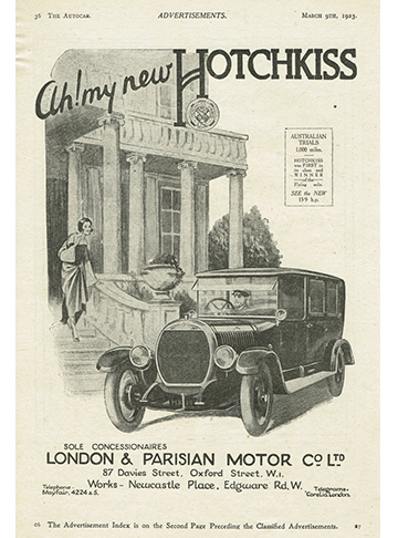 19230309 Hotchkiss The Autocar