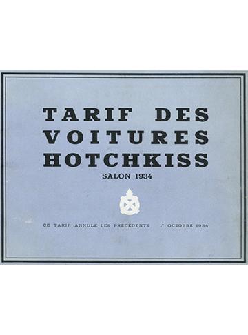 19341001 Tarif belge