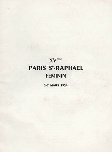 19540303 Paris-Saint-Raphael