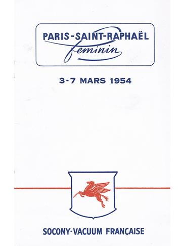 19540303 Paris-Saint-Raphael Ravitaillement