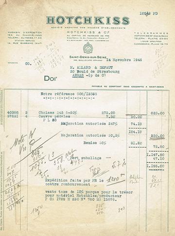 19461114 Facture 10529