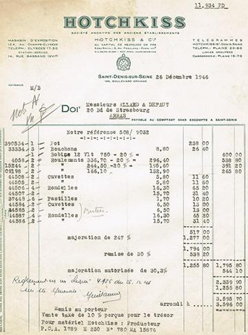 19461226 Facture 11934
