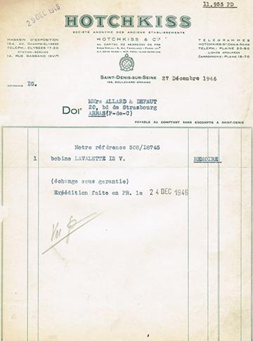 19461227 Facture 11 955