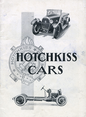 1927 0001 Hotchkiss Cars AM2 Anglais