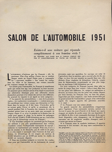 19511000 Salon Automobile