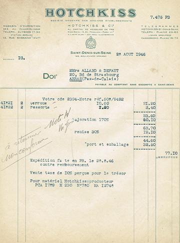 19460828 Facture 7475
