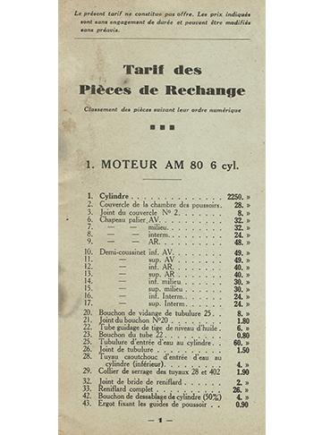 19320001 Pieces AM2-AM80
