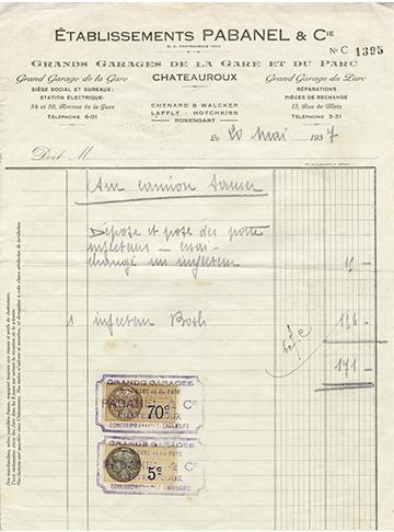 19370520 Facture
