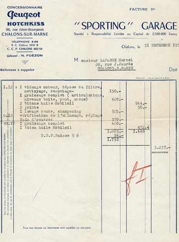 19541231 Facture