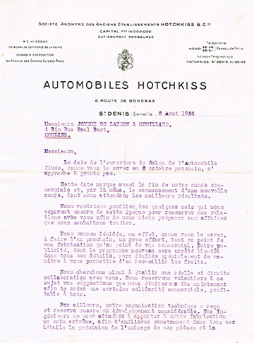 19240805 Hotchkiss Usine