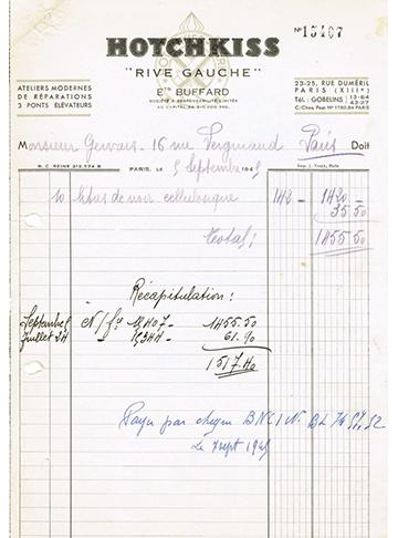 19490909 Facture