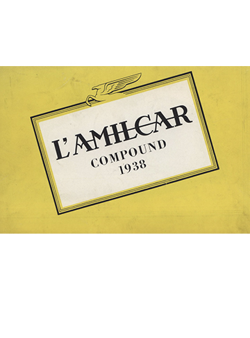 19380001 Tarif Amilcar