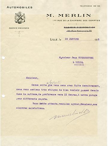 19130115 lettre Merlin