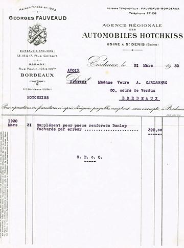 19300331 Fauveaud Carlsberg Avoir