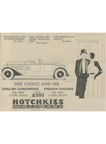19311028 Hotchkiss UK
