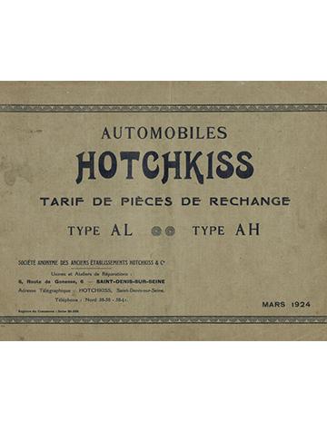 19240300 Tarif Pieces AL AH