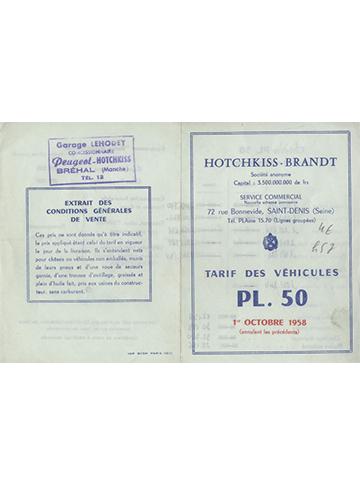 19581001 Tarif PL 50