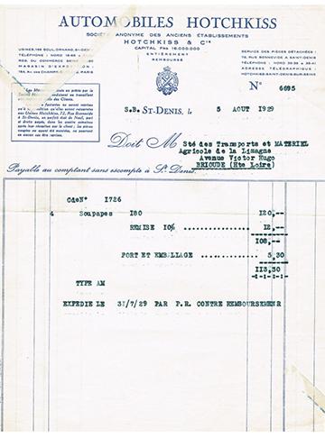 19290805 Facture