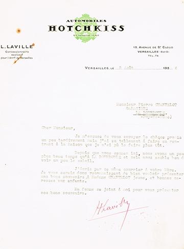 19360805 Hotchkiss Usine Laville